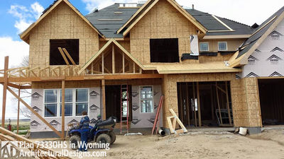 House Plan 73330HS client-built in Wyoming! - photo 020