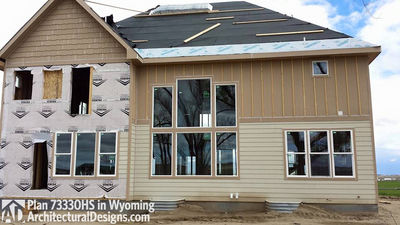 House Plan 73330HS client-built in Wyoming! - photo 012