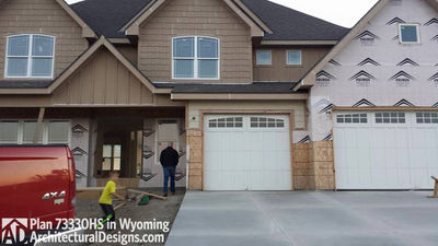 House Plan 73330HS client-built in Wyoming! - photo 014