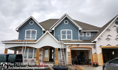 House Plan 73330HS client-built in Wyoming! - photo 006