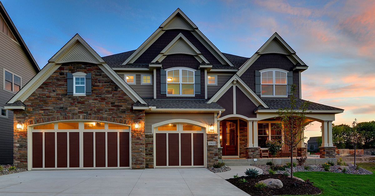 Craftsman Beauty With 2-Story Great Room - 73342HS ...