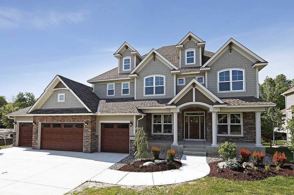 4 Car Garage >> Plan 73343hs Storybook House Plan With 4 Car Garage