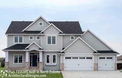 House Plan 73351HS comes to life in North Dakota - photo 001