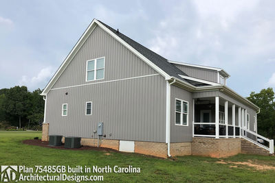 House Plan 75485GB comes to life in North Carolina - photo 002