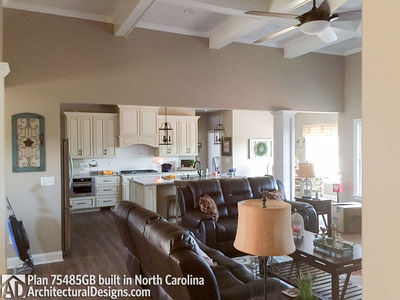 House Plan 75485GB comes to life in North Carolina - photo 007