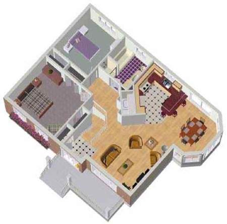Plan 80026PM: Two-Bedroom Bungalow