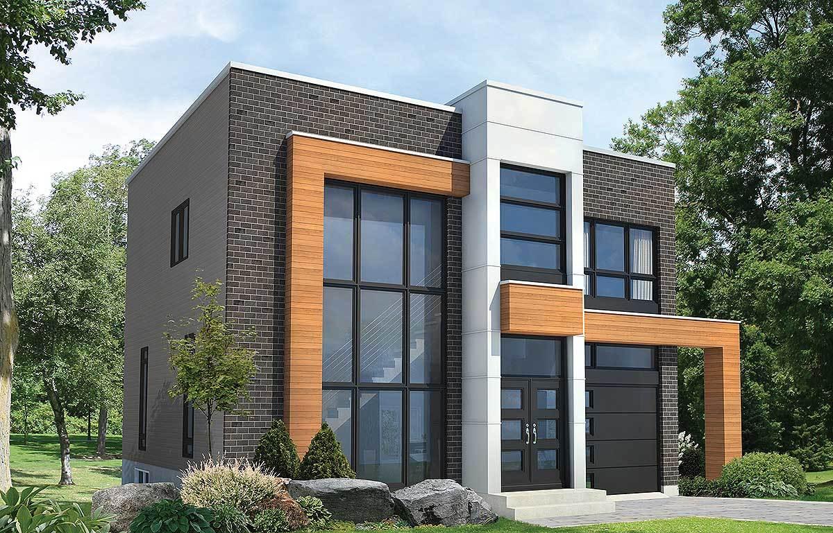 Plan 80827pm Open Concept Modern House Plan