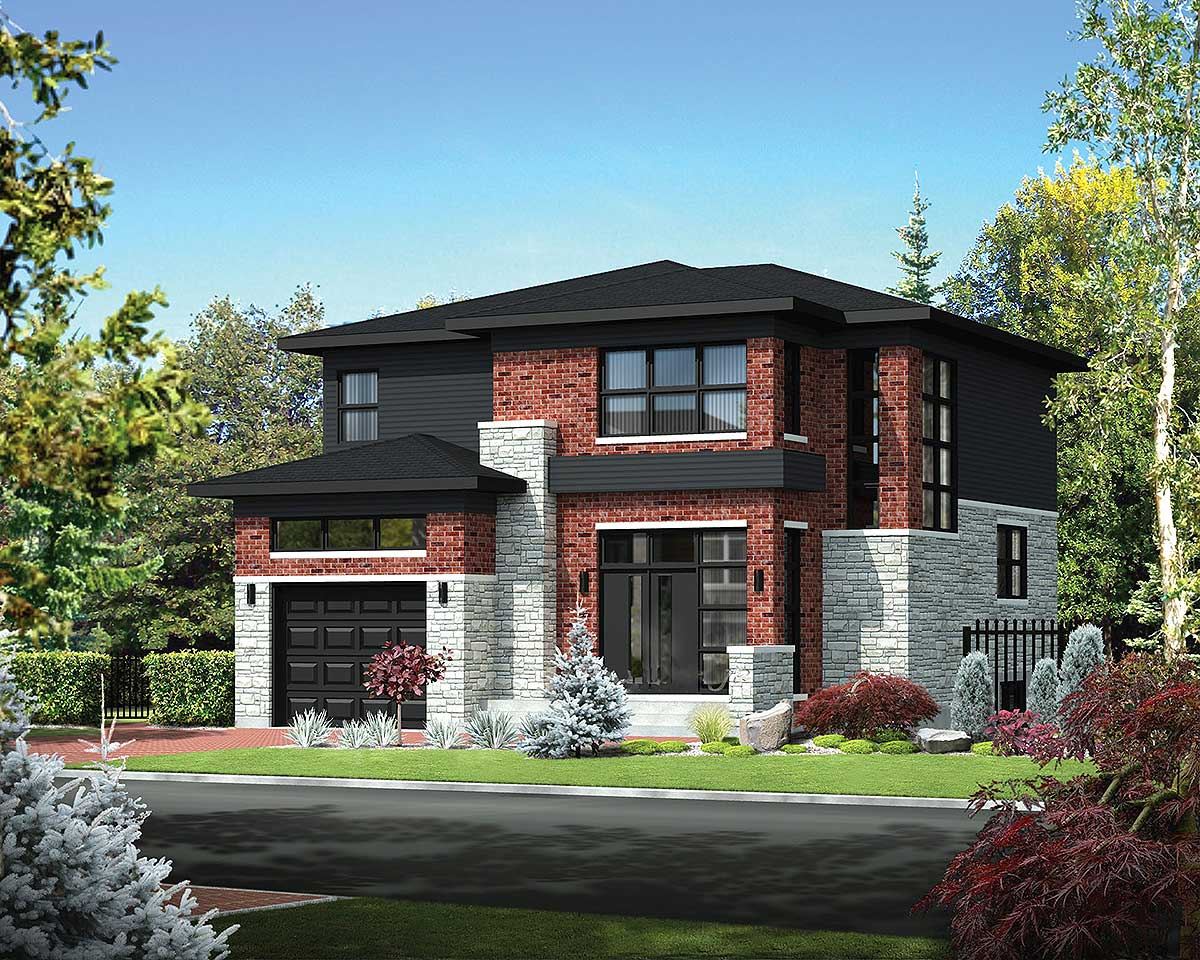 Two Story Northwest House Plan 80847pm Architectural