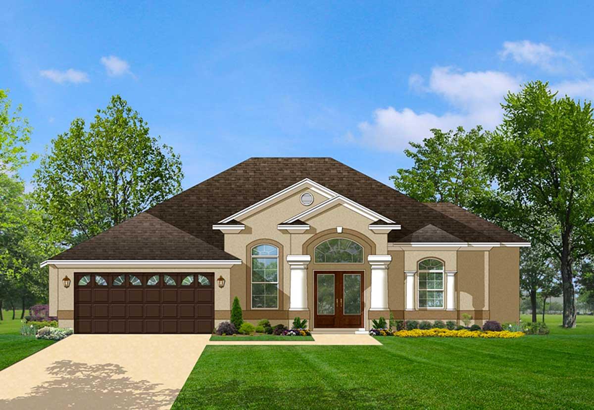 Big, Beautiful Floor Plan - 82028KA | Architectural ...