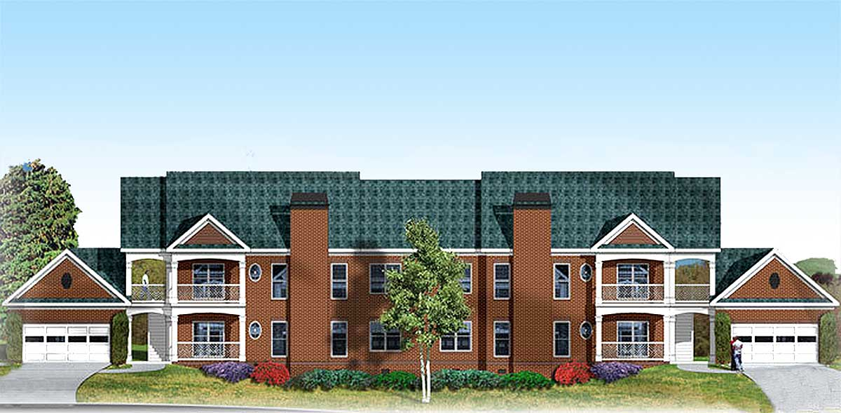 8 Unit 2 Story Apartment Building 83119dc