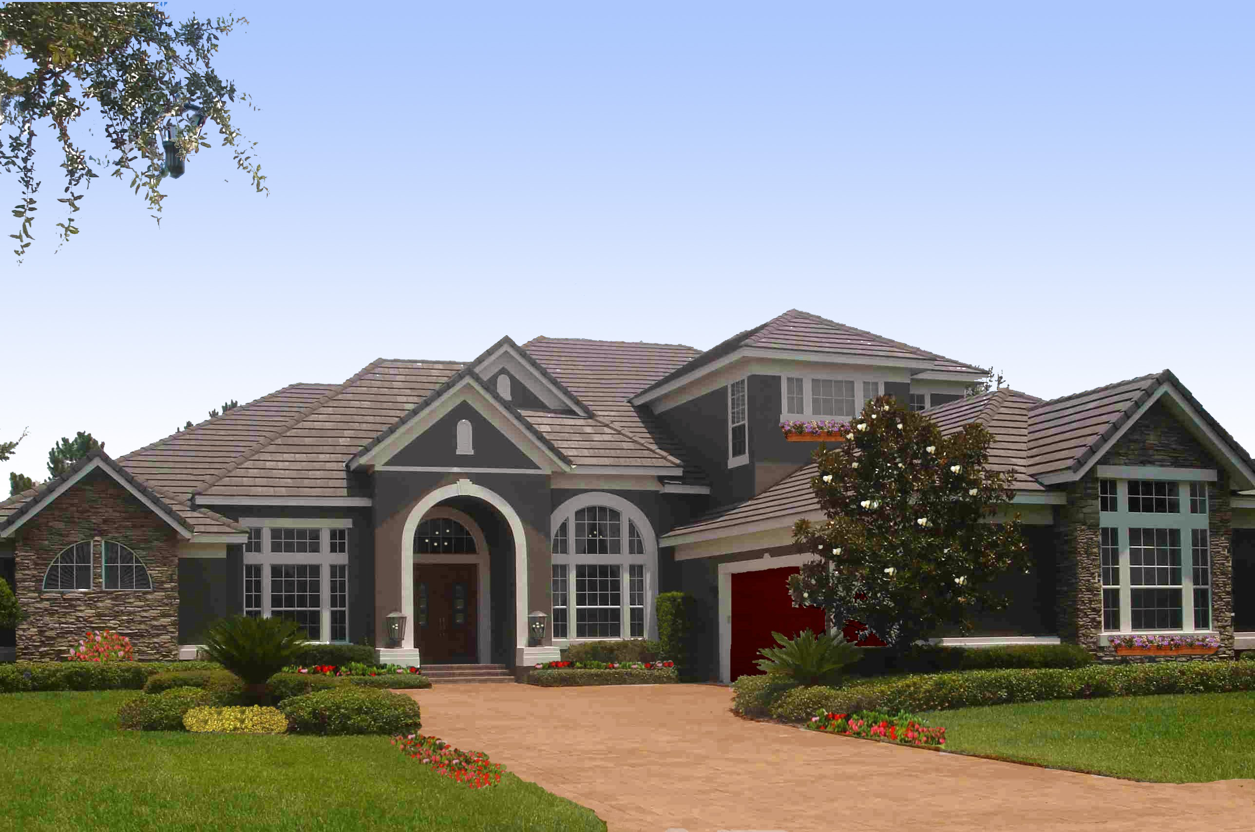 Luxurious French Country Home Plan - 83414CL ...