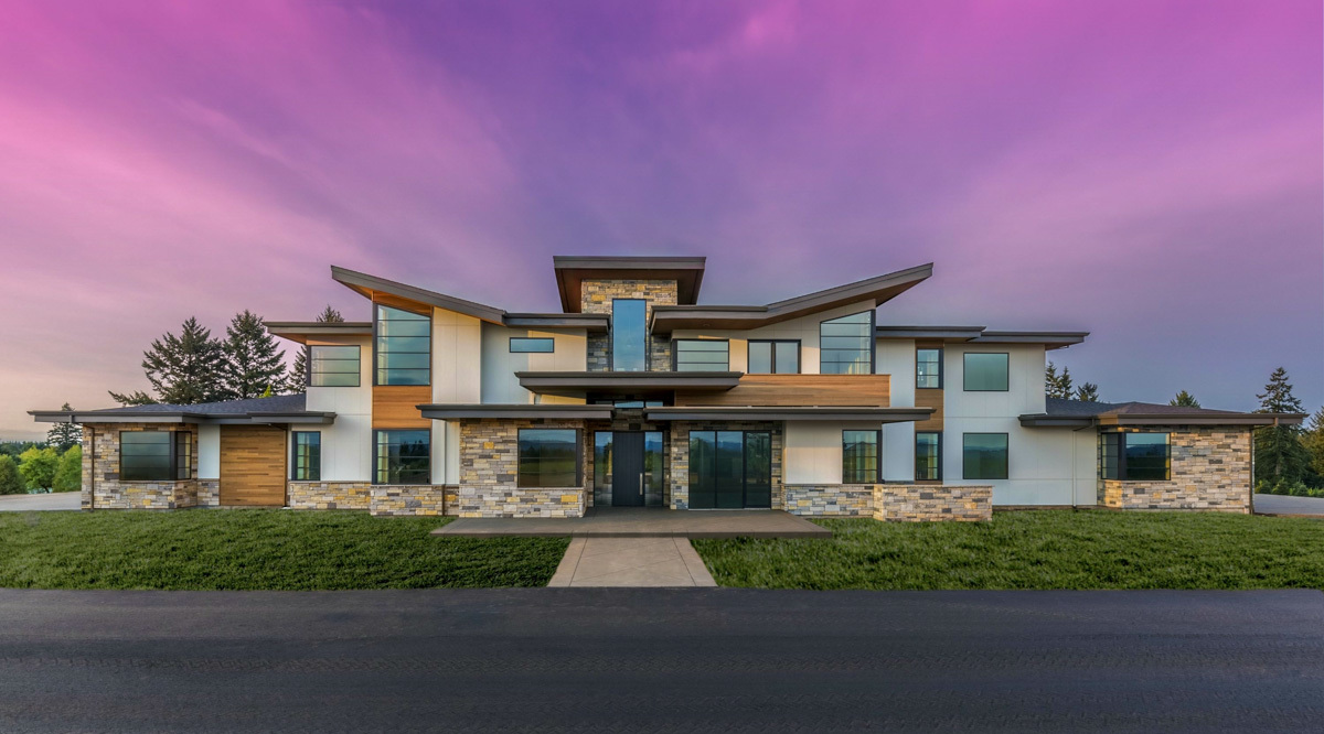 Modern Marvel with 5 Bedrooms and 5 Car Garage - 85125MS ...