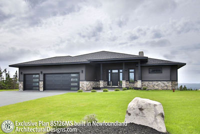 house plan 85126ms comes to life in newfoundland