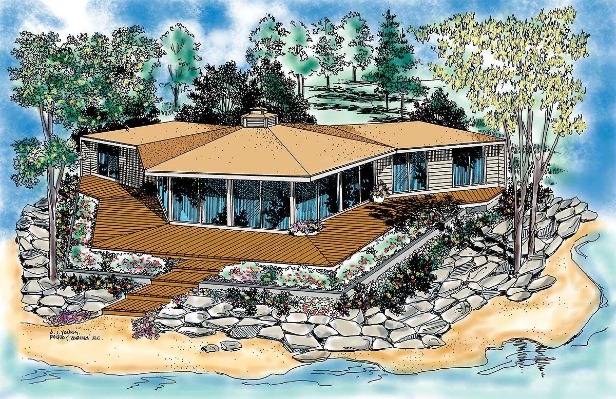 Unique House Plan With Unique Character