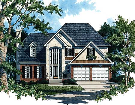 Excellent Choice For Small Lot - 8726GM   Architectural ...