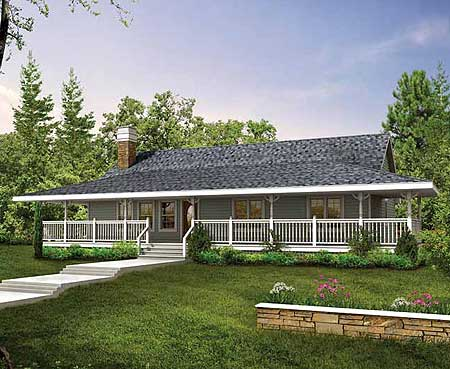 Plan 88447SH: Wrap-Around Porch on house plan with balcony, house plan with 3 bedrooms, house plan with courtyard, house plan with mud room, house plan with breezeway, house plan with front porch, house plan with office, house plan with rv parking, house plan with butler's pantry, house plan with garage, house plan with carport, house plan with foyer, house plan with basement, house plan with dormers, house plan with back porch, house plan with swimming pool, house plan with large windows, house plans with porches, house plan with breakfast nook, house plan with vaulted ceilings,