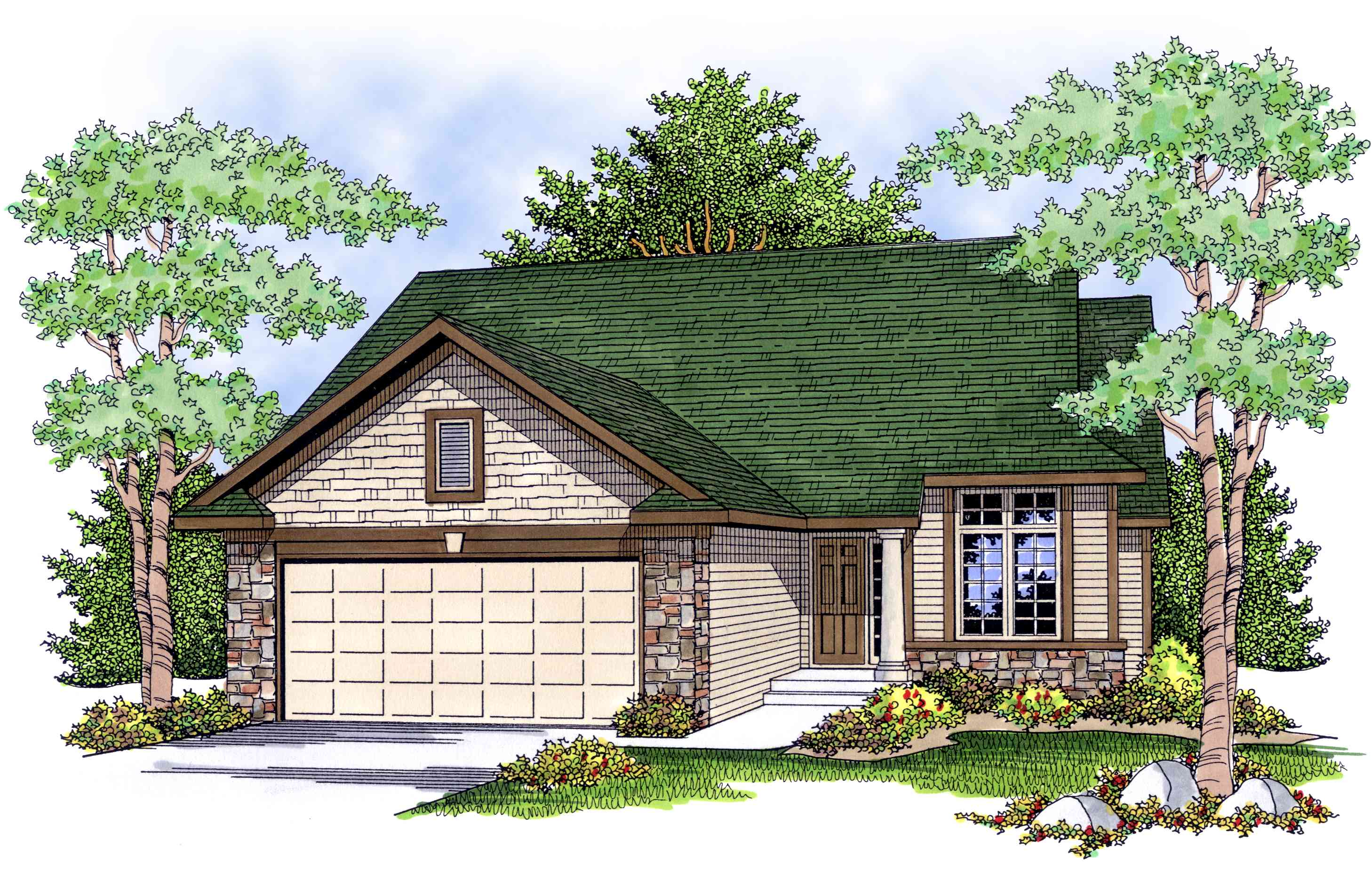 Economical And Easy To Build Ranch House Plan