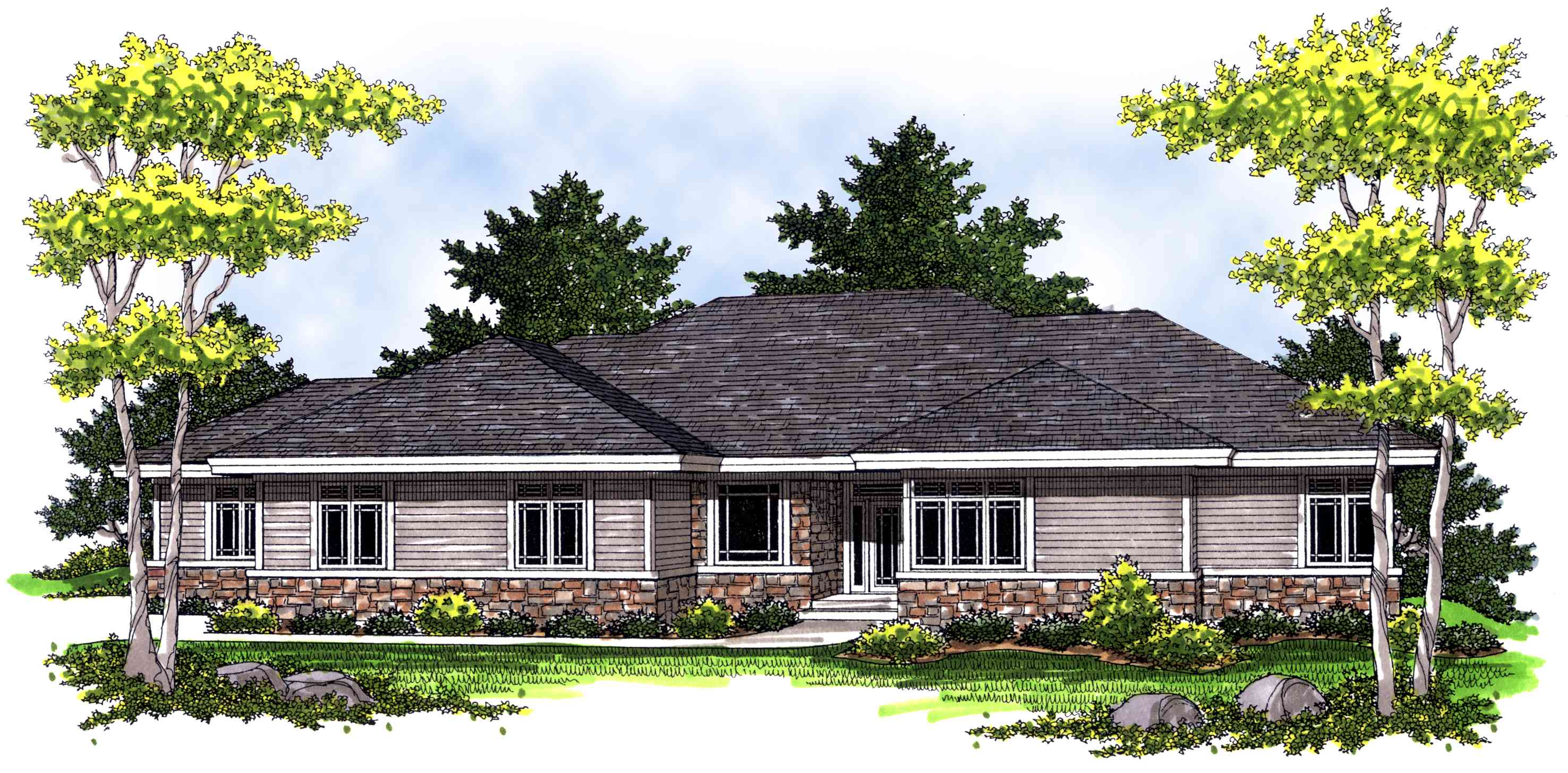 great floor plans ranch with large great room windows 89235ah architectural designs house plans 1625