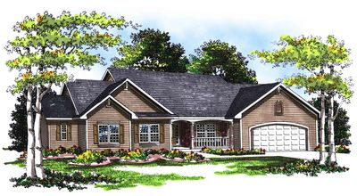 traditional 3 bed ranch home plan 89510ah architectural designs rh architecturaldesigns com