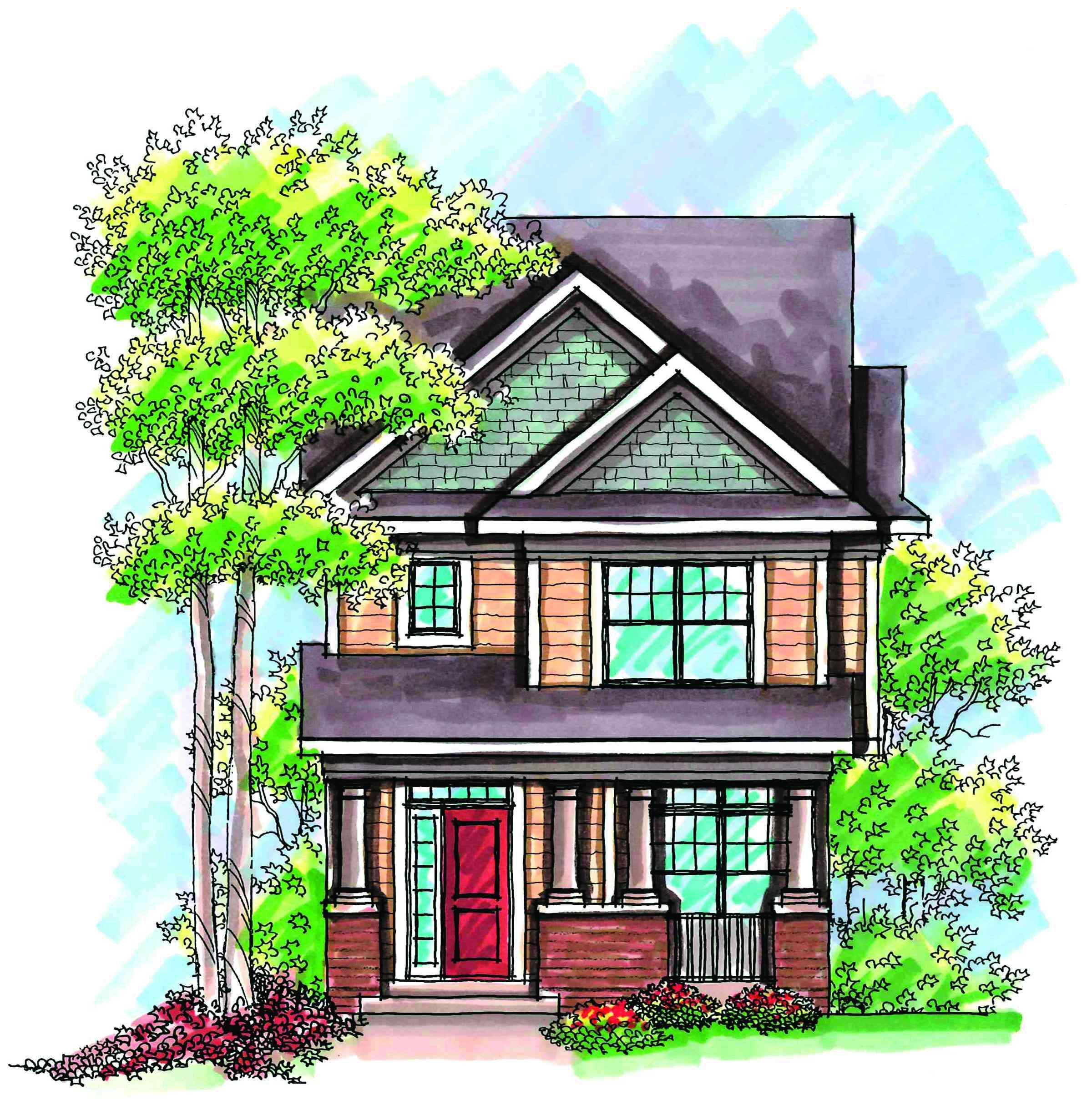 Craftsman Alley-Load House Plan - 89714AH