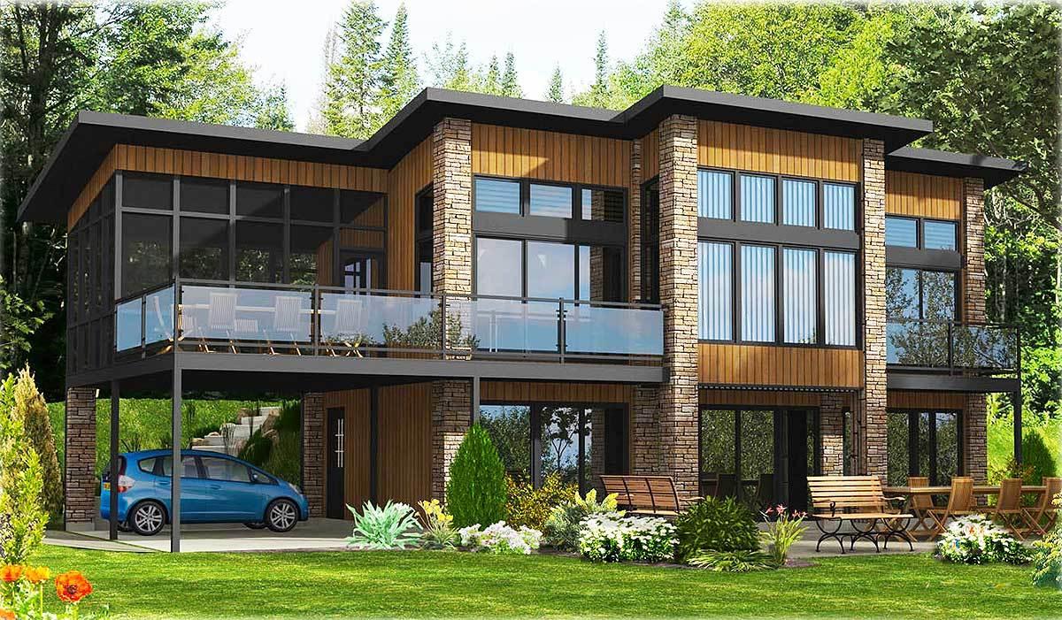 Metric House Plans - Architectural Designs