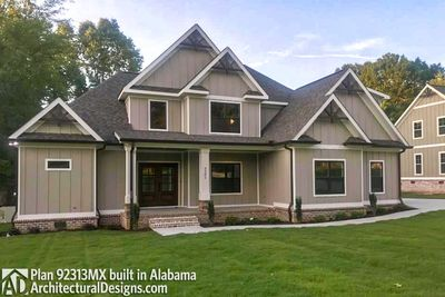 House Plan 92313MX comes to life in Alabama - photo 001