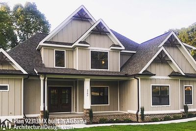 House Plan 92313MX comes to life in Alabama - photo 002