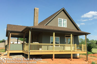House Plan 92318MX gets modified and built in Virginia - photo 001