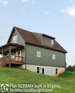 House Plan 92318MX gets modified and built in Virginia - photo 005