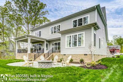 House Plan 93058EL comes to life in Virginia! - photo 008