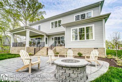House Plan 93058EL comes to life in Virginia! - photo 009