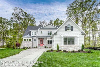 House Plan 93058EL comes to life in Virginia! - photo 001