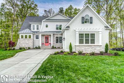 House Plan 93058EL comes to life in Virginia! - photo 002