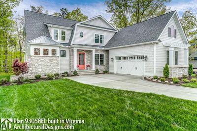 House Plan 93058EL comes to life in Virginia! - photo 004