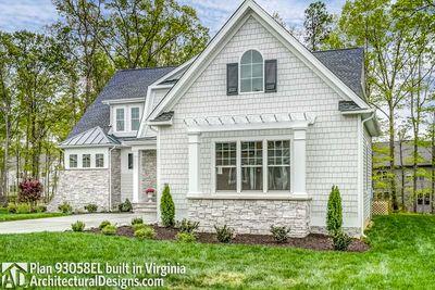 House Plan 93058EL comes to life in Virginia! - photo 005