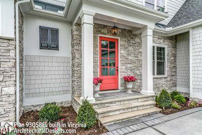 House Plan 93058EL comes to life in Virginia! - photo 017