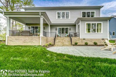 House Plan 93058EL comes to life in Virginia! - photo 006