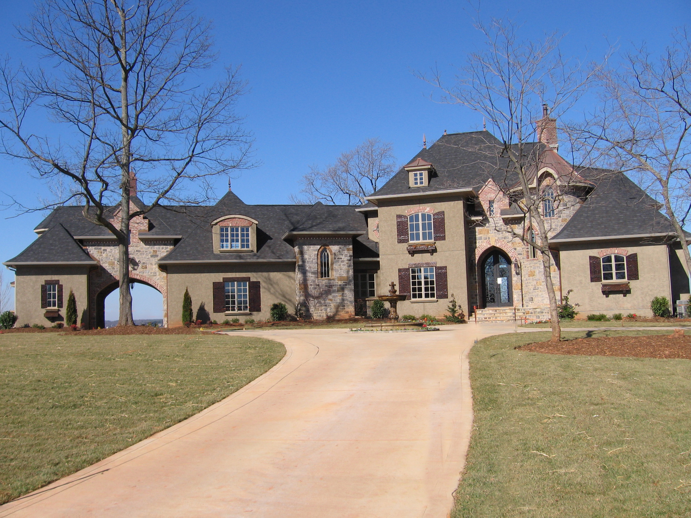 French Country Estate Home Plan 9323el Architectural