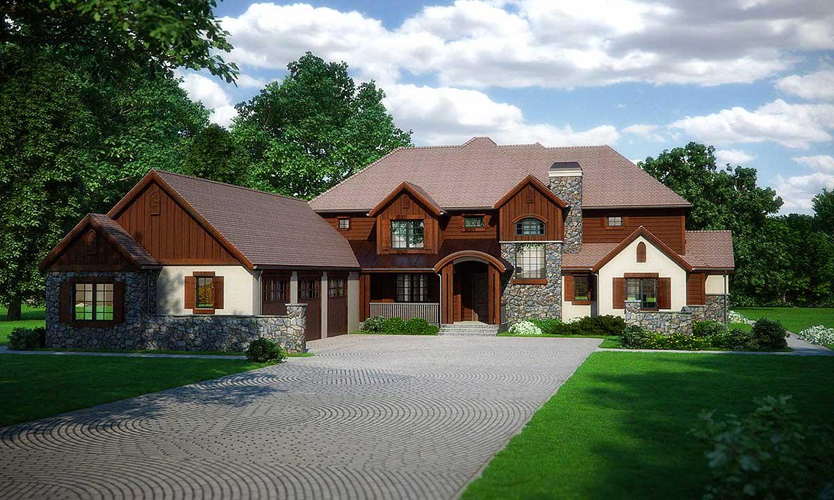 15 Cool Stucco House Siding - House Plans |Stucco House Designs