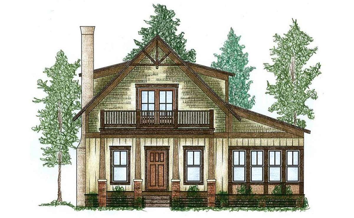 Cute Cottage With Bunk Room 9746al Architectural Designs House Plans