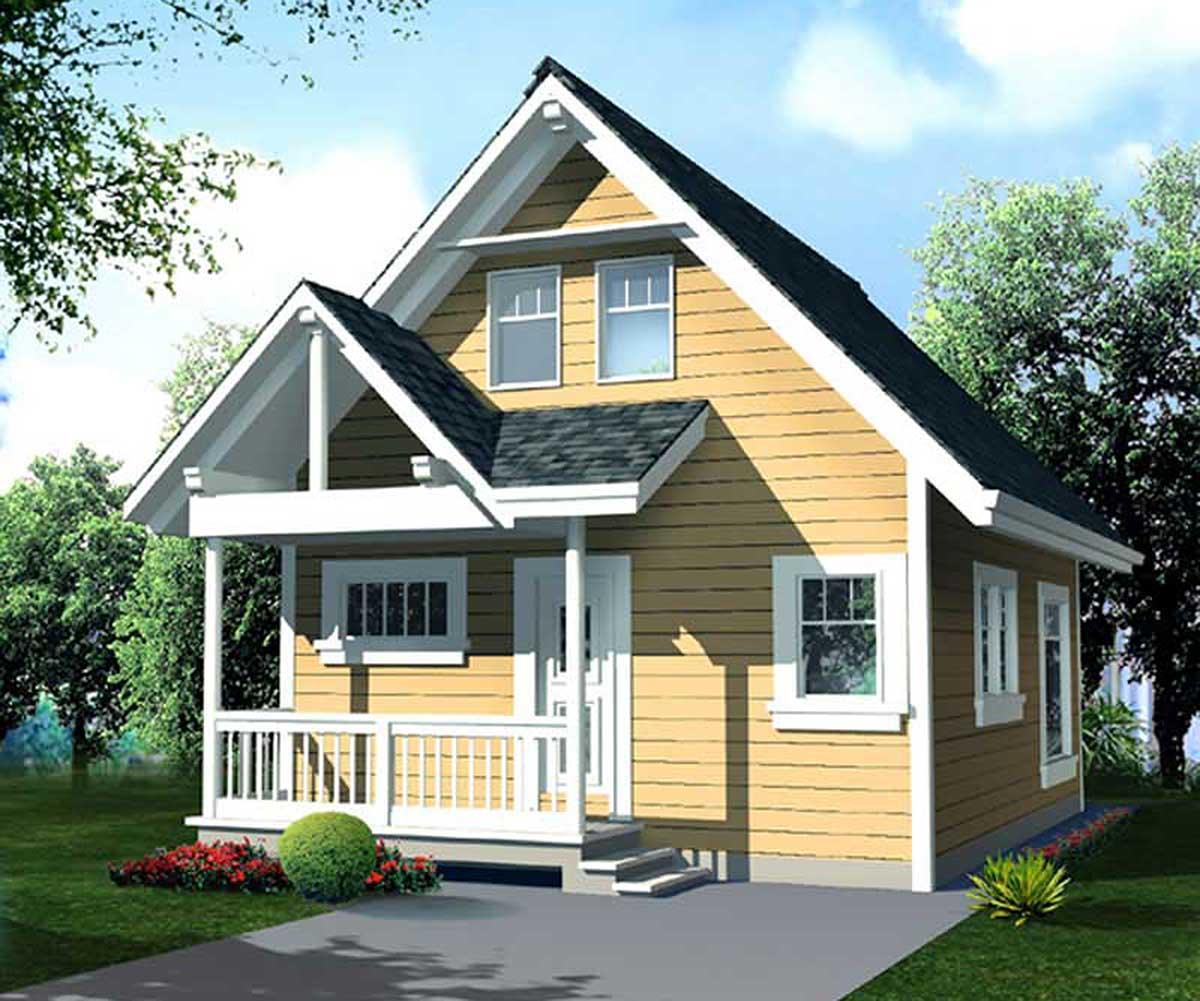 Economical Cottage Design - 9806SW | Architectural Designs ...
